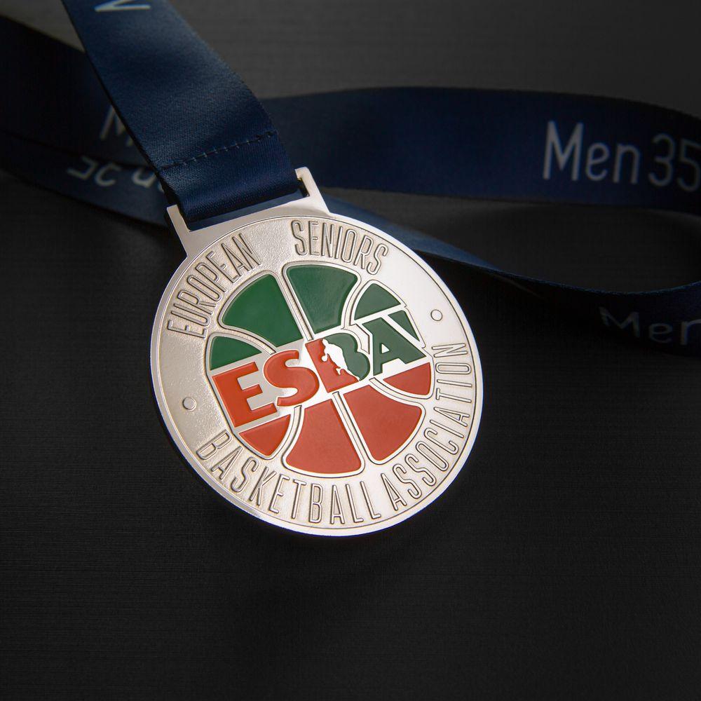 Медаль баскетбольной лиги, никель