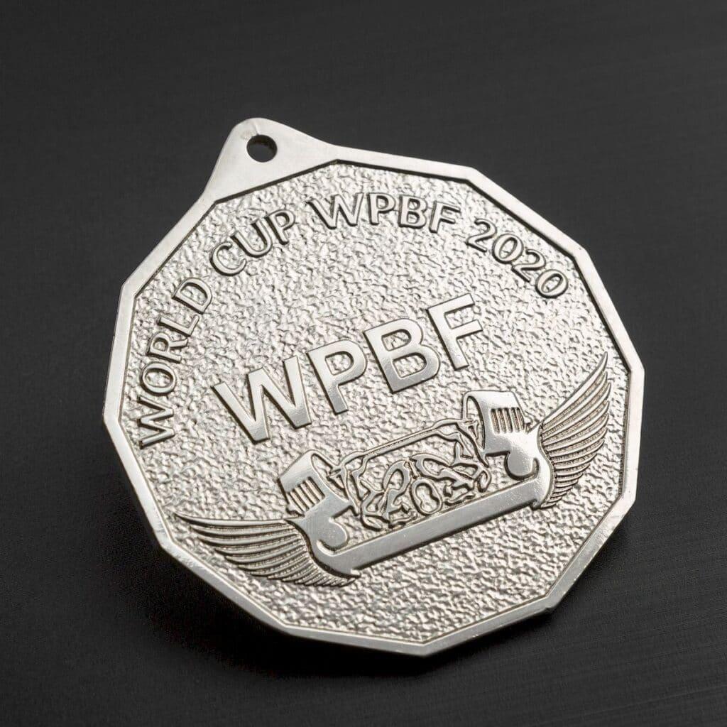 Медаль спортивна: цам і нікель – 2332