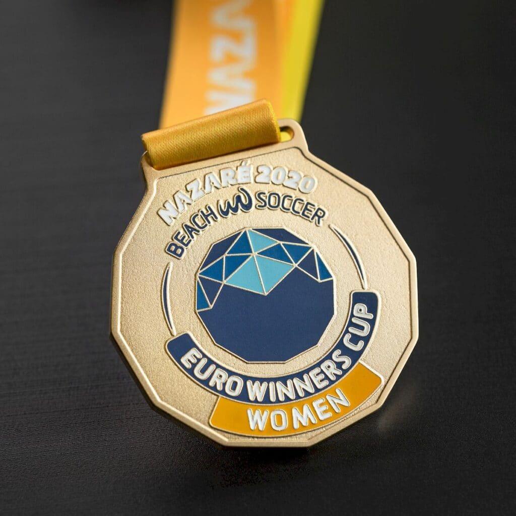 Медаль: женский пляжный футбол — 2463