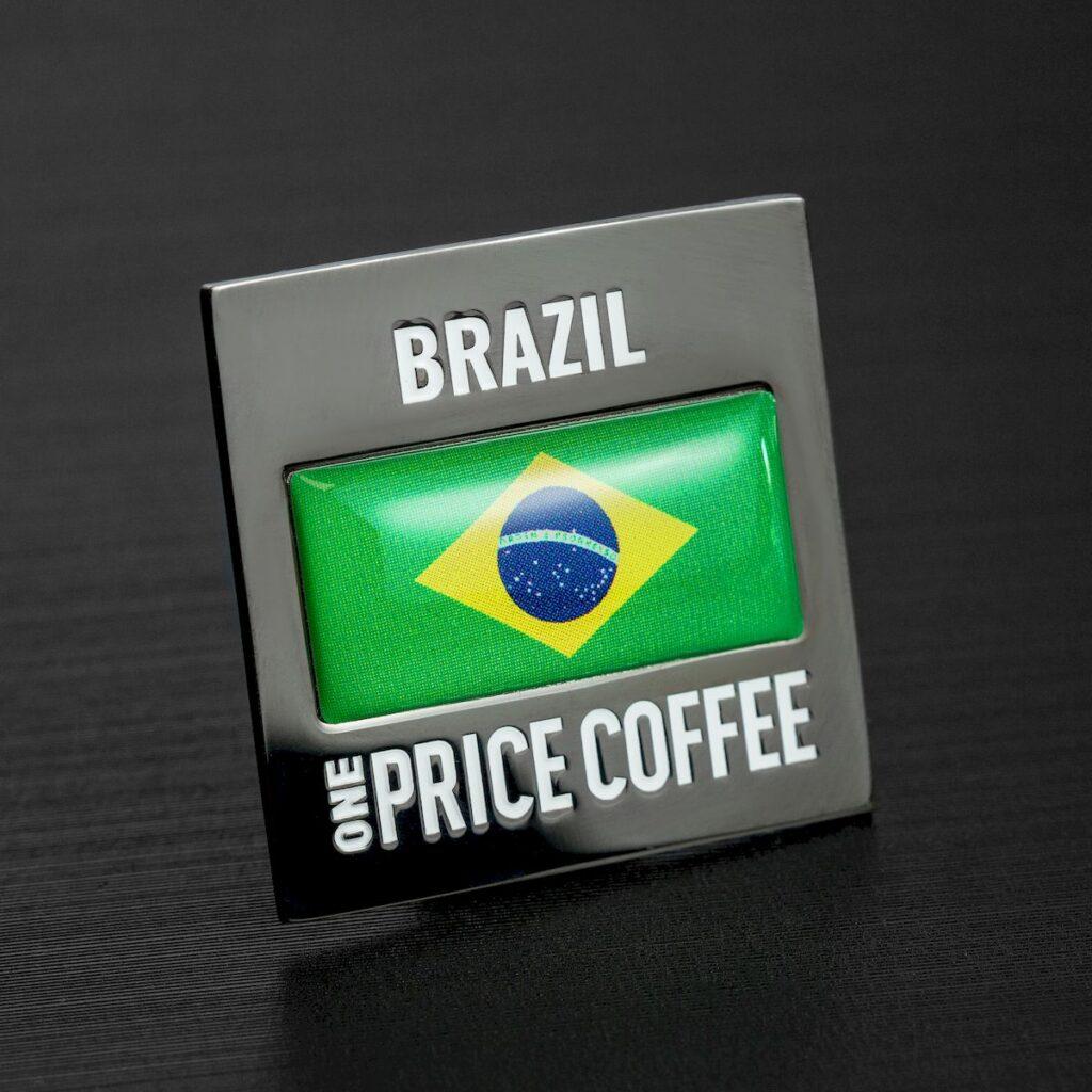Значок: страна Бразилия — 2514