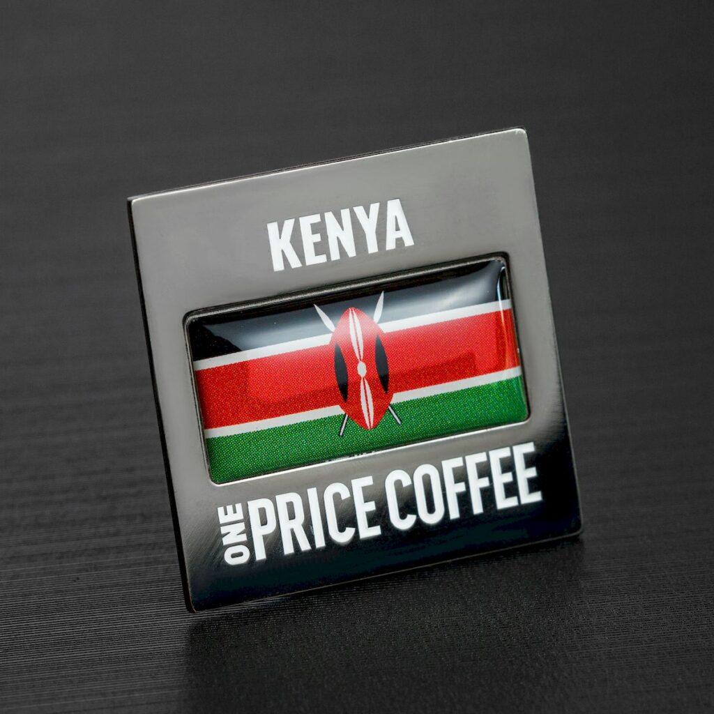 Значок: страна Кения — 2519